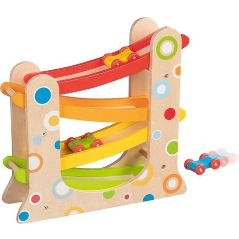 Dřevěné hračky - autodráha