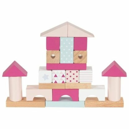 Dřevěná stavebnice - hrad