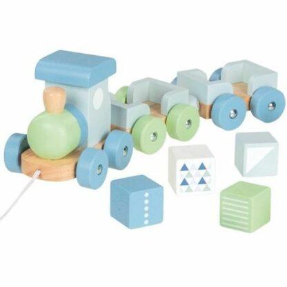 Dřevěné hračky - vláček